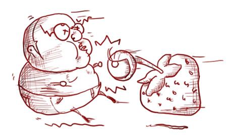 Huye de las frutas