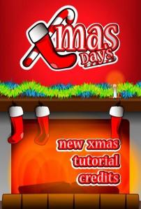 Xmas Days' Main menu