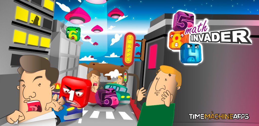 Math Invaders disponible!